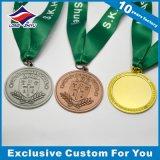 リボンの金属のカスタムロゴの浮彫りになる賞が付いているカスタム宗教メダル