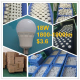 Luz de bulbo del brillo 120lm/W 18W E27 G75 LED de RoHS del Ce