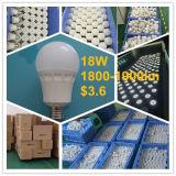 セリウムのRoHSヨーロッパの上販売法18W E27 120lm/W LEDの球根ライト