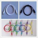 Câble mono sonore mono 3.5mm stéréo coloré de connexion du câble 3.5mm