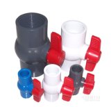 Divers PVC Made de Plastic Handle Ball Valve en Chine