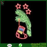 2D Christmas LED Rope Lighting Motif