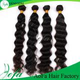 estensione naturale dei capelli umani del Virgin di Remy dei capelli dell'onda del corpo 100%Unprocessed