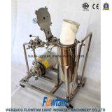 Carro móvel sanitário do filtro de saco do filtro do aço inoxidável