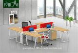Após a mobília útil ergonómica da estação de trabalho do computador de escritório dos assentos do mercado 4 com gabinete movente