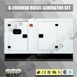 50Hz Geluiddichte Diesel die 80kVA Generator door Perkins wordt aangedreven (SDG80PS)