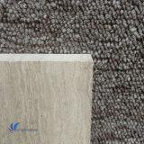 Losa de madera blanca natural Polished del mármol del grano