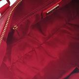 Handbag gonfia dell'unità di elaborazione della signora rossa