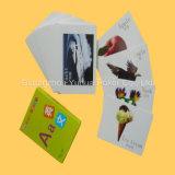 Tarjetas educativas plásticas de las tarjetas de juego de la impresión a todo color a estrenar