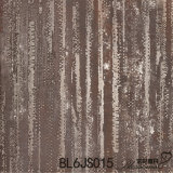 Telhas de assoalho rústicas de Brown da porcelana do metal (600X600mm)