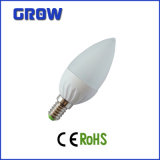 CE RoHS Approval Dimmable DEL Candle Light de 6With7W E14/E27