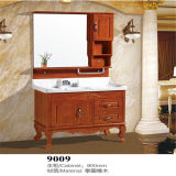 Side Cabiet를 가진 높은 Quality Floor Standing Wood Bathroom Vanity