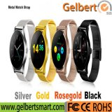 Gelbert Stainless Steel Bluetooth Smart Watch pour cadeau