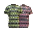 T-shirt 100% à séchage rapide de piste de polyester rond de collet pour les hommes