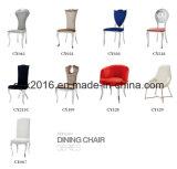 가정 가구를 위한 의자를 식사하는 높은 뒤 PU 덮개 스테인리스