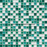 Square를 가진 2016 대중적인 Ice Crackle Ceramic & Glass Wall Mosaic
