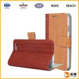 Diseño del tirón y caja magnética material del teléfono del cuero