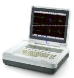 12.1 machine de l'électrocardiographe ECG ECG de la Manche de pouce 12 (EM1200)