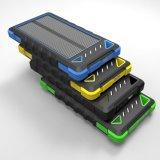 Chargeur 8000mAh solaire extérieur de défenseur avec l'éclairage LED pour des téléphones