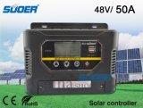 Contrôleur de charge de système solaire de la haute performance 48V 50A de Suoer (ST-W4850)