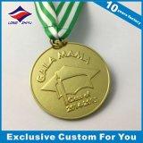 Kundenspezifische Religion-Medaille mit Farbband-Metallkundenspezifisches Firmenzeichen-prägenpreisen