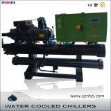 Type inondé efficace élevé réfrigérateurs refroidis à l'eau de vis