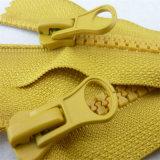 Reißverschluss-unsichtbares Spitze-Harz-Metallnylonreißverschluß für Kleid-Zusatzgerät