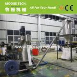 Granulador de filme de plástico PE de duas fases de grande capacidade