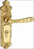 Bloqueos de cobre amarillo sólidos de la maneta del diseño de Medio Oriente