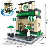 Kids Build Their World 10253006のための創造的なEducational Toys Street Views Micro Blocks