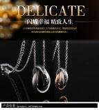 Collar de la joyería del acero inoxidable 316L la manera pendiente (hdx1041)
