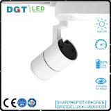 Lampe renfermante en aluminium DEL CRI>90 80lm/W de l'ÉPI DEL Tracklight 20W de Dimmable
