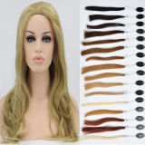 Women indiano Human Hair Frontal Lace Wigs a mano Tide