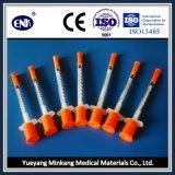 의학 처분할 수 있는 인슐린 주사통, Ce&ISO가 바늘 (0.5ml)와 더불어, 승인된 상태에서