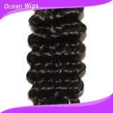 Quercy Hair Unprocessed Human Hair Wholesale Top Grade Peruvian 또는 인도 브라질 Deep Wave Hair Extension