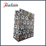 十分に印刷されるブラウンカラーは誕生日のペーパーギフト袋をカスタム設計する