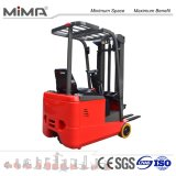 Mini 3 ruedas Carretilla elevadora eléctrica 1ton
