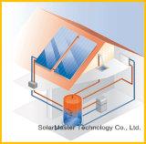 Sistema solar a presión fractura de la calefacción por agua de Solarmaster