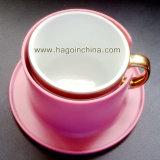 Sostenedor amistoso de encargo de la taza de café del PE de Eco PP