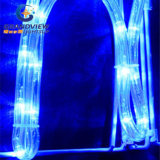 "Geanimeerde 290cm Wide LED Blue ""vrolijke Christmas"" Motif Rope Lights"