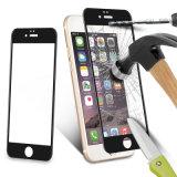 Protetores da tela da tampa cheia 3D da fibra do carbono para o iPhone