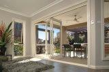 Porta de dobradura deslizante luxuosa de Superhouse Austrália com preço de fábrica
