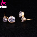 상감세공 수정같은 모조 다이아몬드 귀걸이 귀 보석