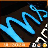 Segni della lettera di pubblicità commerciale del LED per il negozio