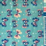 Ткань фланели хлопка ткани 2016 зим напечатанная для пижам и Sleepwear повелительниц