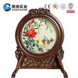 Decorazione di seta fatta a mano cinese dello schermo della Tabella (SCTD00067)