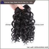 """Человеческие волосы человеческих волос Китая курчавые Weft с 16 """" длинами"""