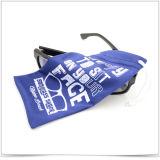 Bolsa de Sunglass de la fibra de la multa estupenda con el modelo impreso