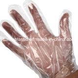 L перчатки PE прозрачного домочадца размера устранимые