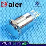 Verrouillage imperméable à l'eau en métal électrique/commutateur de bouton poussoir momentané (LAS1-19F-11)